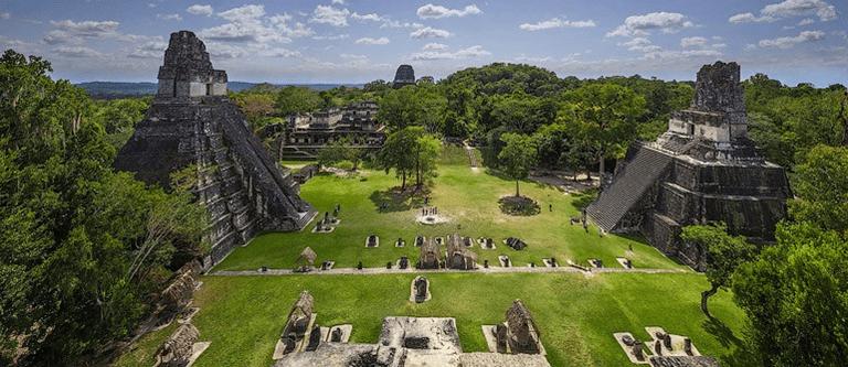 Plaza Mayor at Tikal National Park
